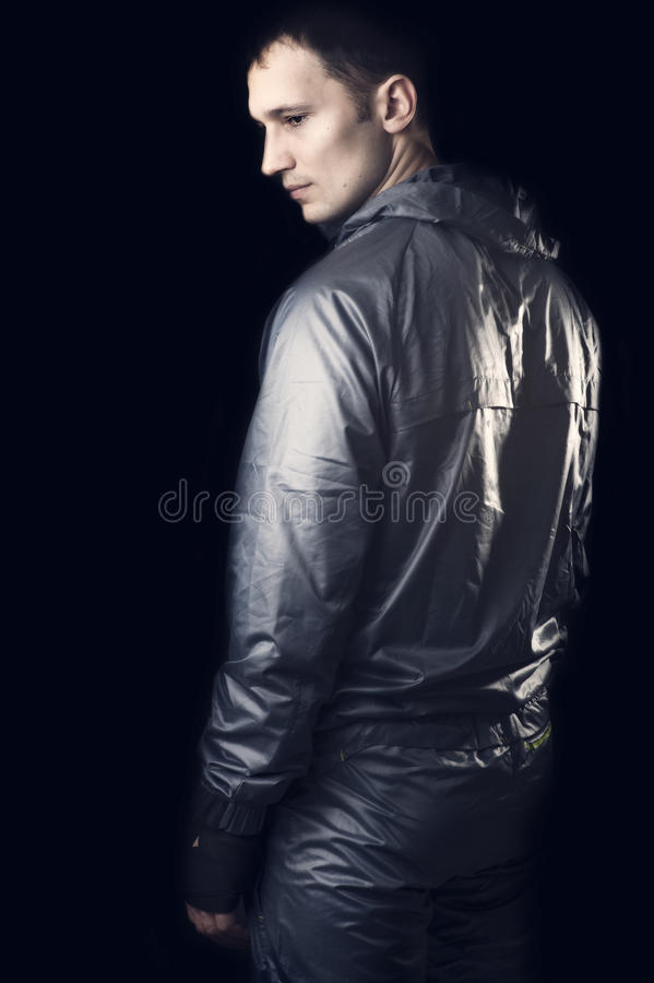 Download Young Handsome Man In Sportswear Stock Photo - Image of gray, casual: 23856912