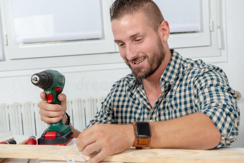 Handyman Home Maintenance Stock Photo Image Of Wood Tall
