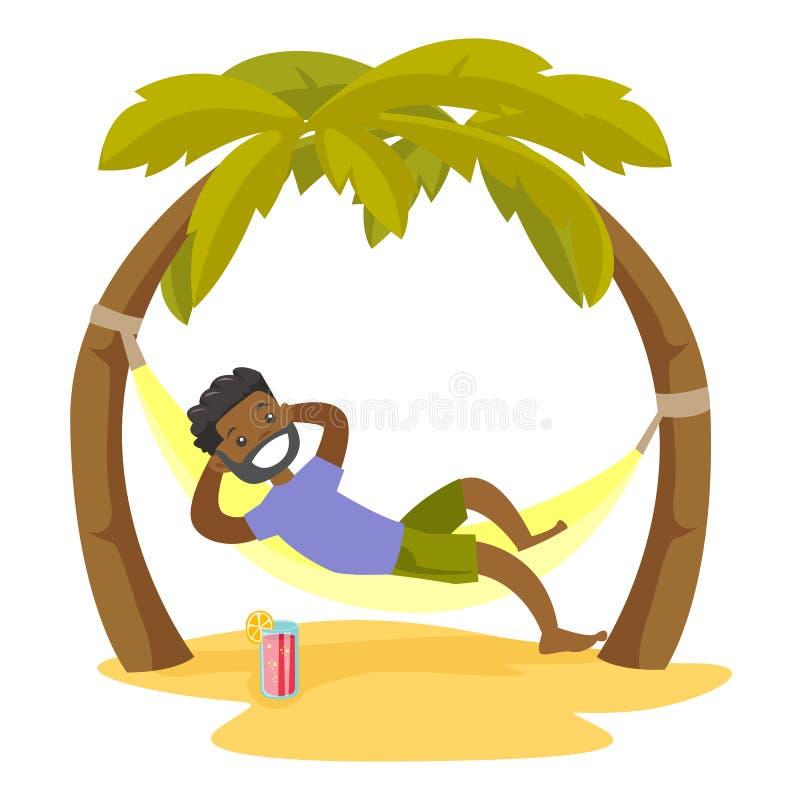 Hammock Tropical Beach Clip Art