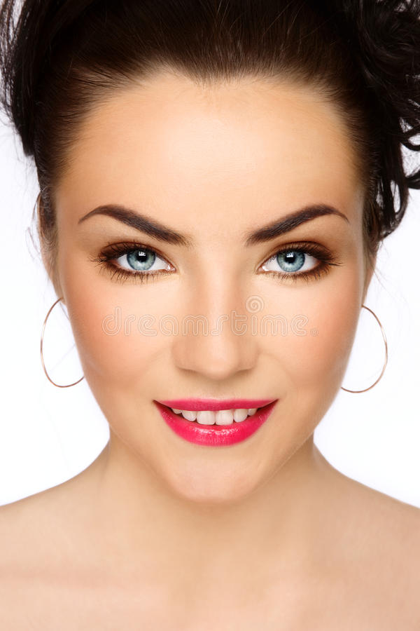 Young happy beauty stock photography