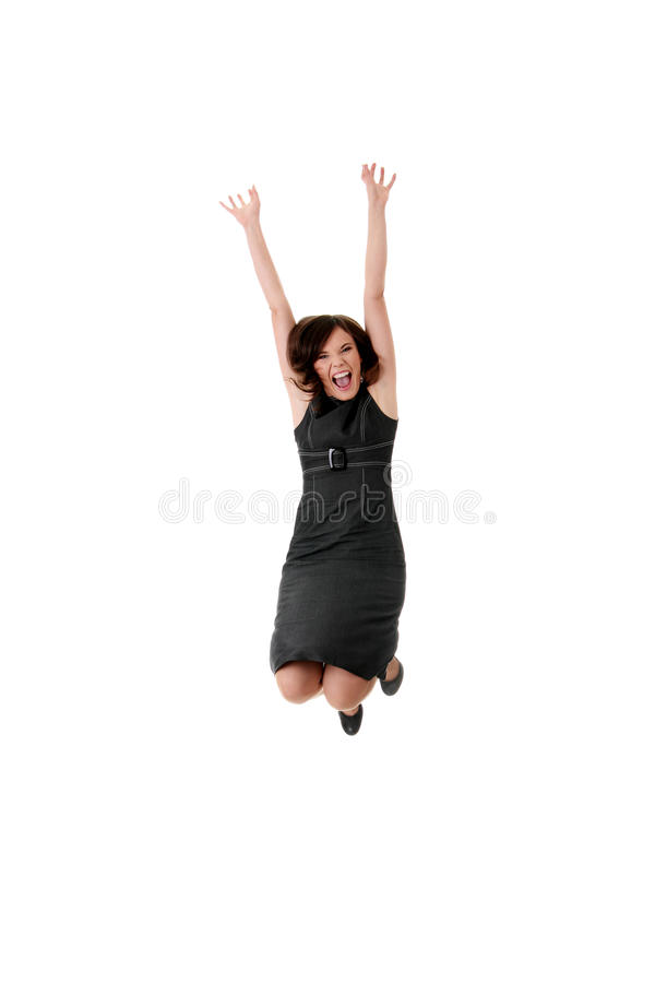 Download Young Happy Businesswoman Stock Photo - Image: 16627300