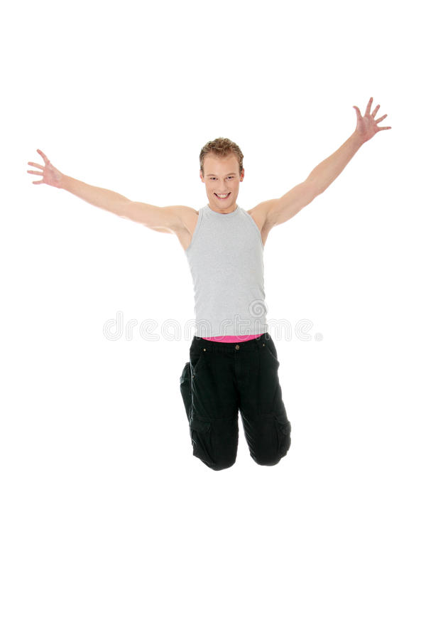 Free Young Happy Caucasian Man Stock Photography - 17186322