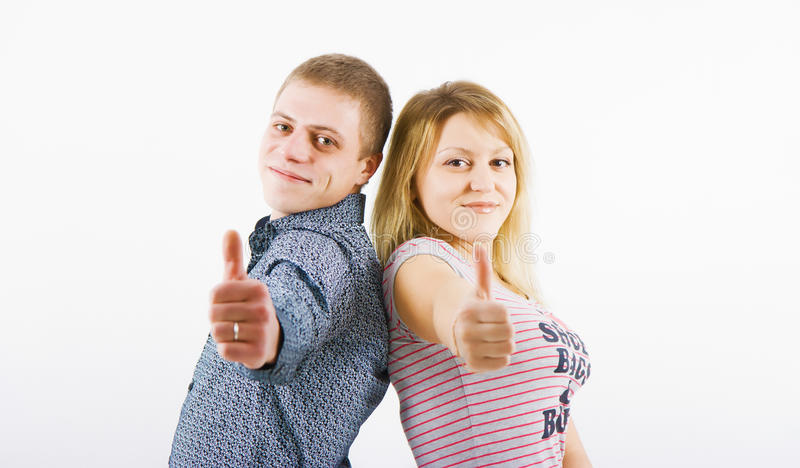Download Young happy couple stock photo. Image of happiness, closeup - 18923096