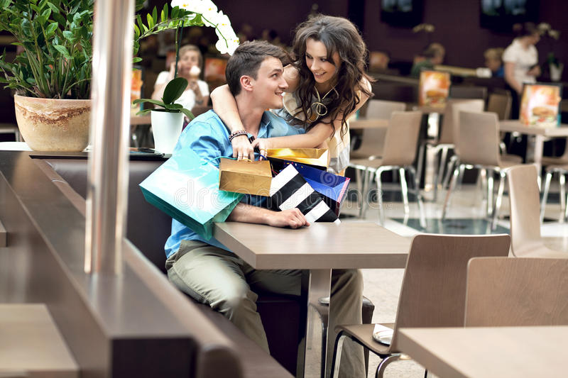 Download Young happy couple stock photo. Image of colour, happy - 19614132