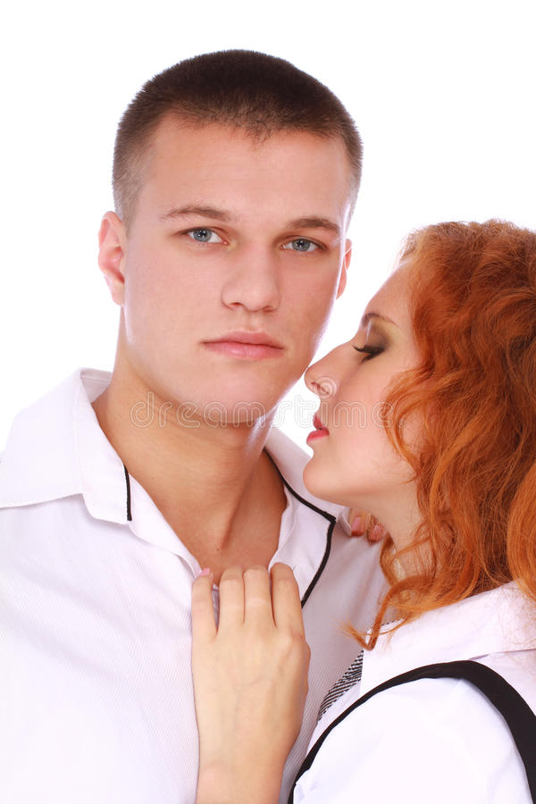 Download Young happy couple in love stock image. Image of beauty - 27343321