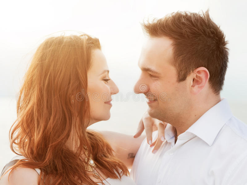 Download Young Happy Couple In Love. Romantic Moment Stock Photo - Image of happy, marriage: 41679176