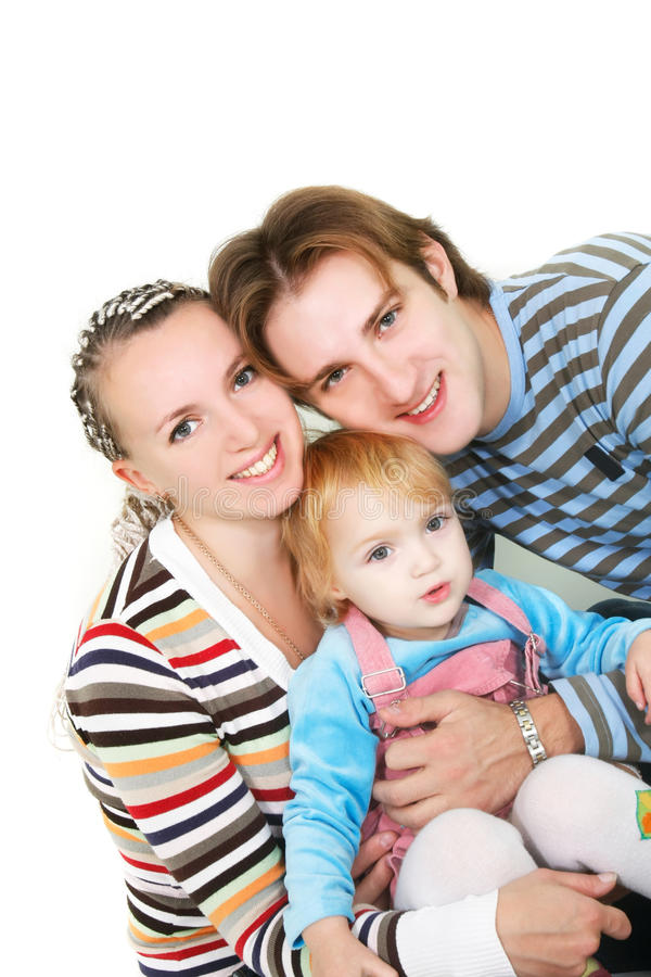Download Young happy family stock image. Image of caucasian, female - 11600167