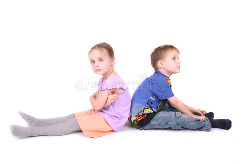 Download Young happy kids stock image. Image of minded, even, little - 9144845