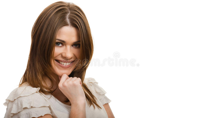 Download Young happy woman stock image. Image of modern, fashion - 23495061
