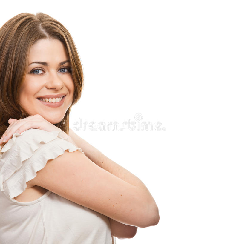 Download Young happy woman stock photo. Image of human, pose, lady - 23495084