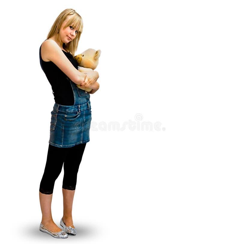 Young hapy GIRL stock image