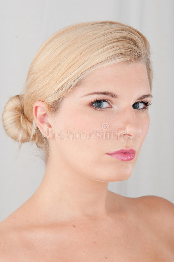 Download Young Healthy Woman With Pure Skin Stock Image - Image: 12137137