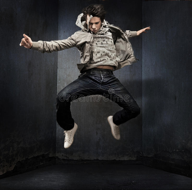 Download Young hip-hop stock photo. Image of male, leap, acrobat - 9664128