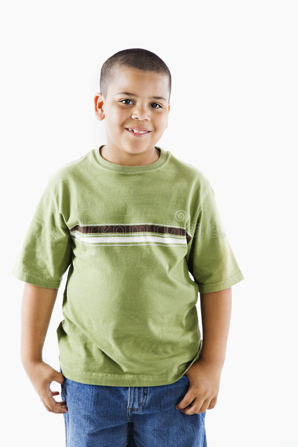 Download Young hispanic boy stock image. Image of smiling, youth - 5538583