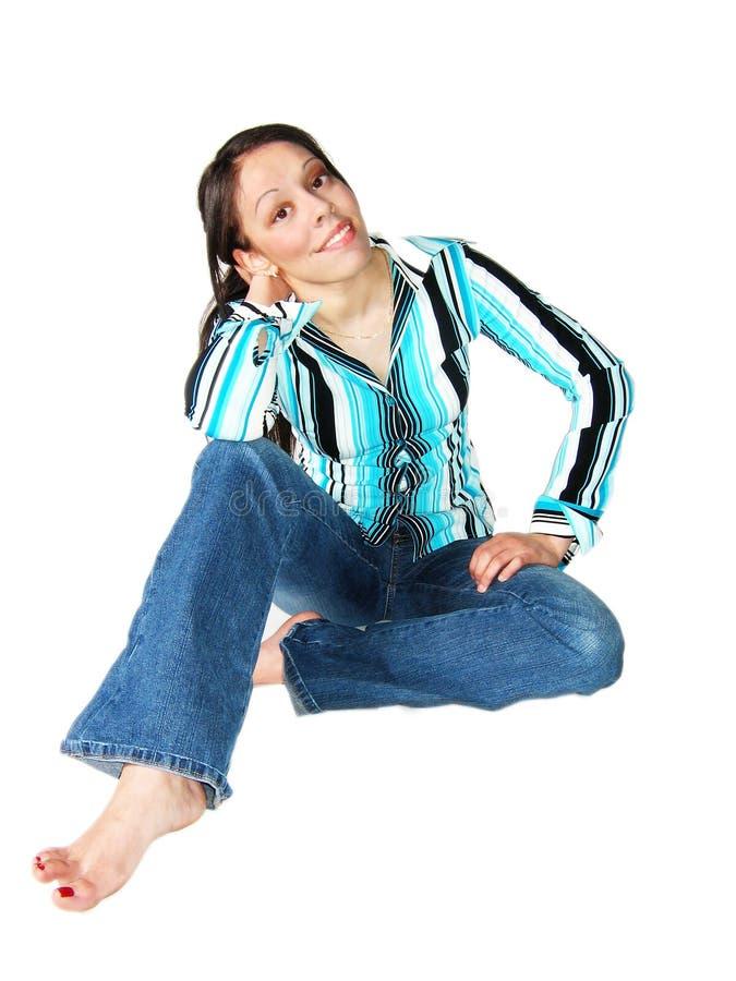 Download Young Hispanic Woman stock image. Image of body, beautiful - 744961