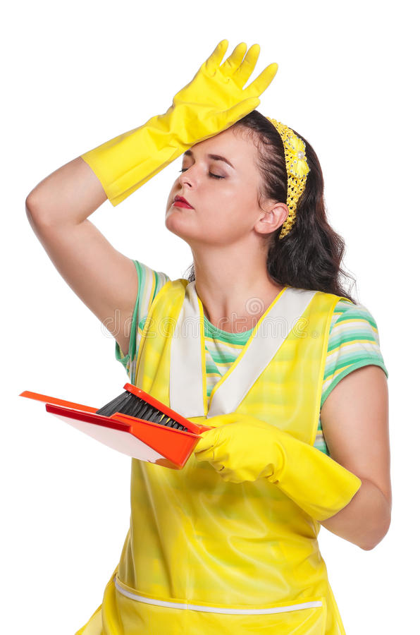 Download Young housewife stock image. Image of beauty, colorful - 26822205