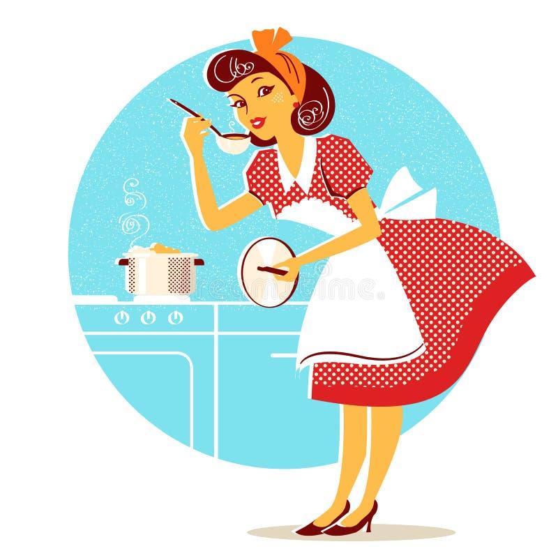 Strange Housewife Retro Stock Illustrations 1 862 Housewife Retro Interior Design Ideas Clesiryabchikinfo