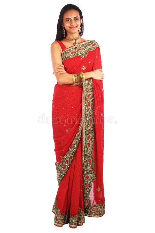 Download Young Indian Girl In Traditional Clothing. Stock Photo - Image: 23197074