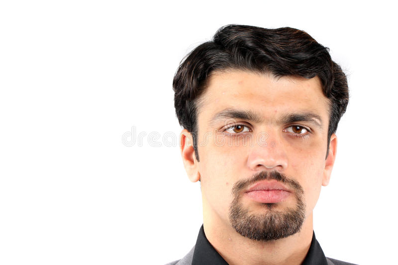 Download Young Indian Man stock photo. Image of portrait, asian - 15427930
