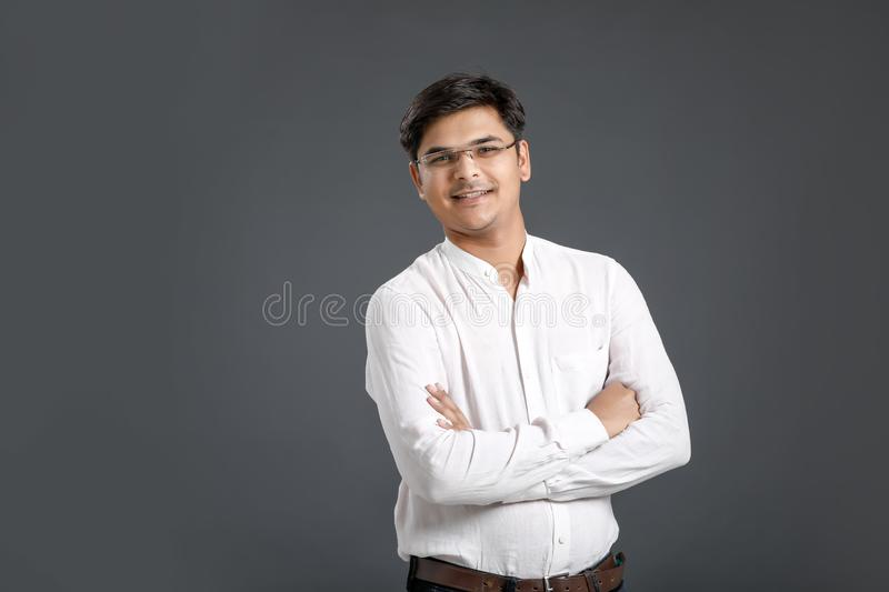 Young indian man stock images