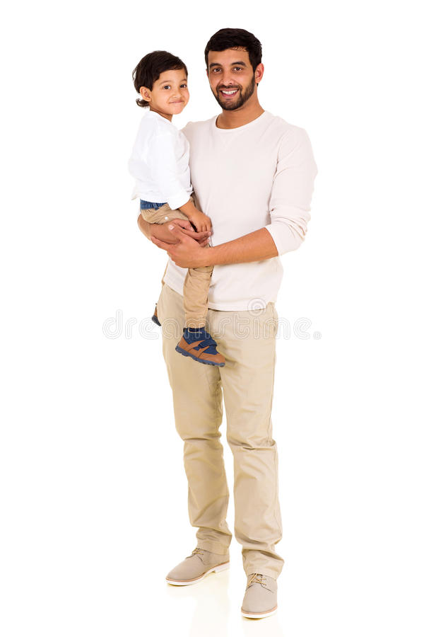 Young indian man son royalty free stock photo