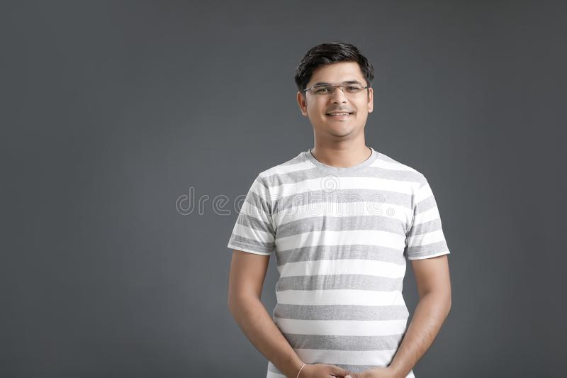 Young indian man royalty free stock photo