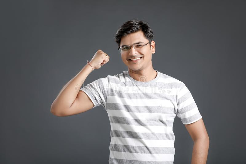 Young indian man stock image