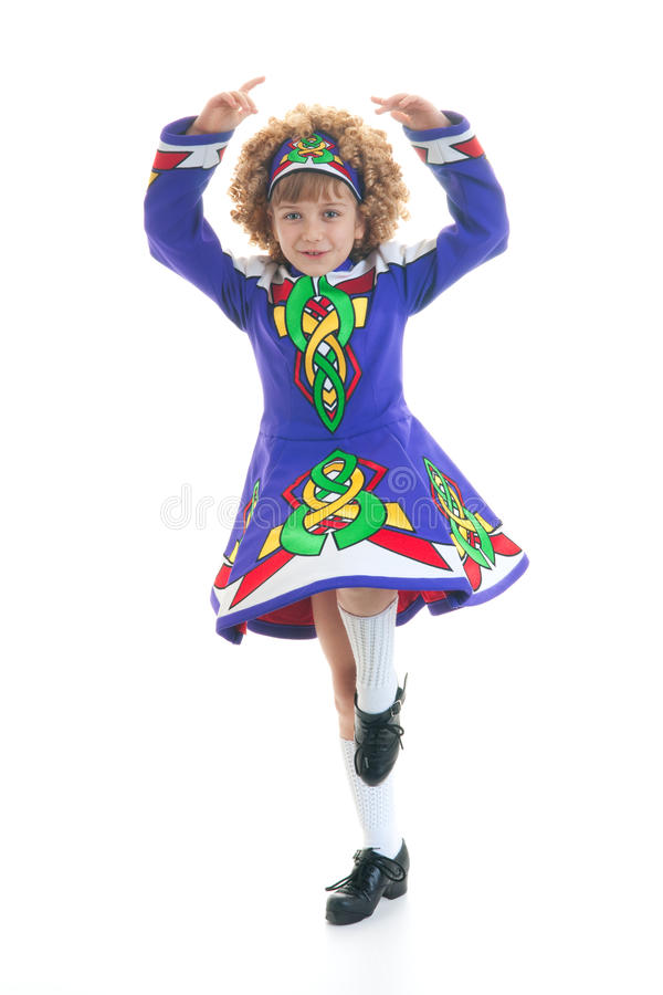 Young Irish dancer stock images