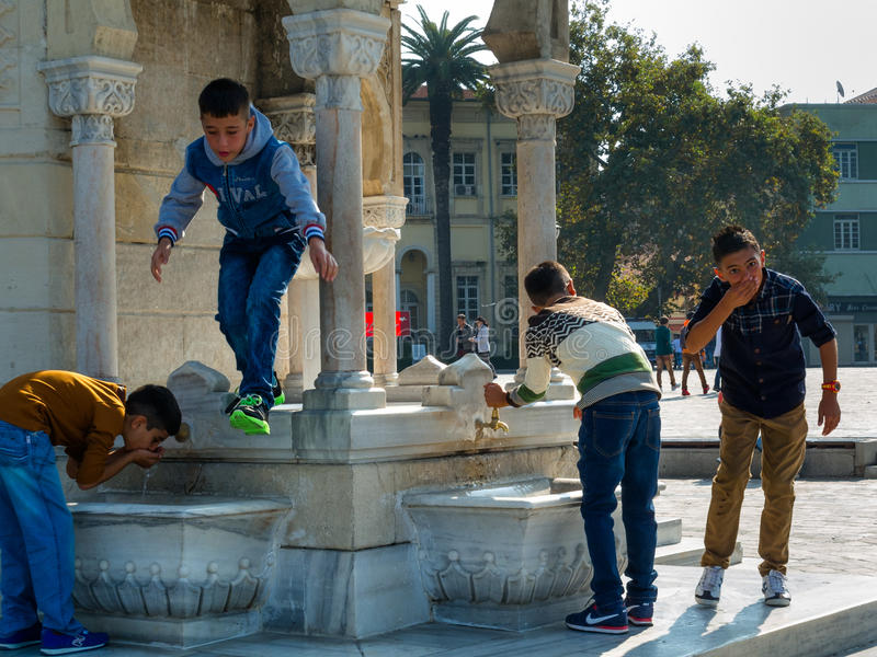 Young Izmir generation, Turkey royalty free stock image