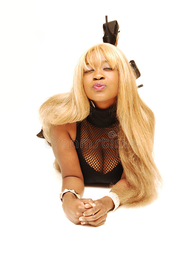 Young Jamaican girl stock image