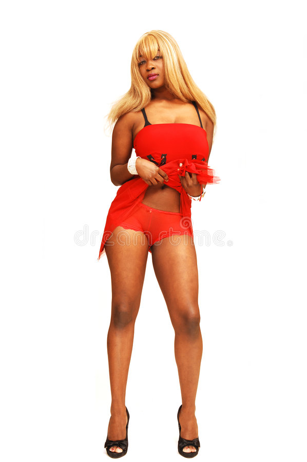 Free Young Jamaican Girl In Red Stock Photo - 5123100