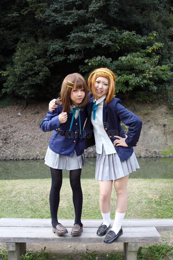 Download Young Japanese Cosplayers Editorial Stock Image - Image: 22340804