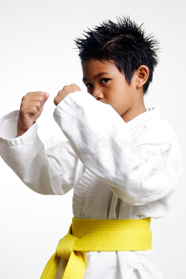 Download Young Karate Kid Stock Images - Image: 194064