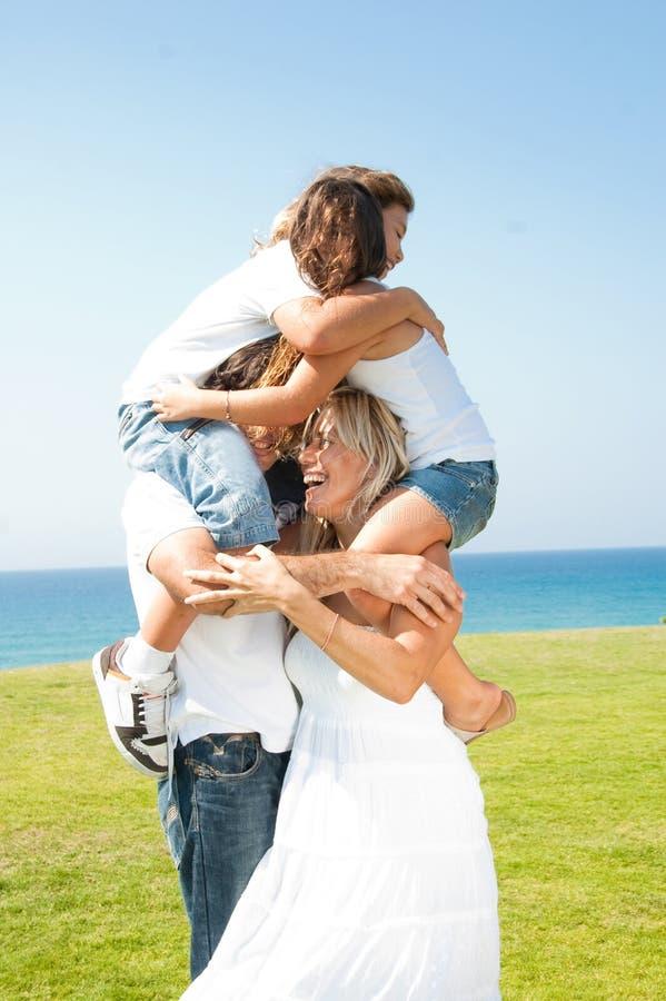Download Young kids embracing stock image. Image of daughter, beautiful - 11309095