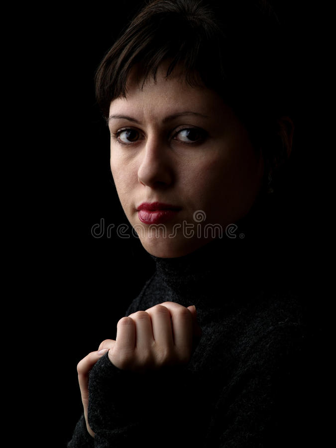 Free Young Lady Classic Portrait Royalty Free Stock Image - 11923446