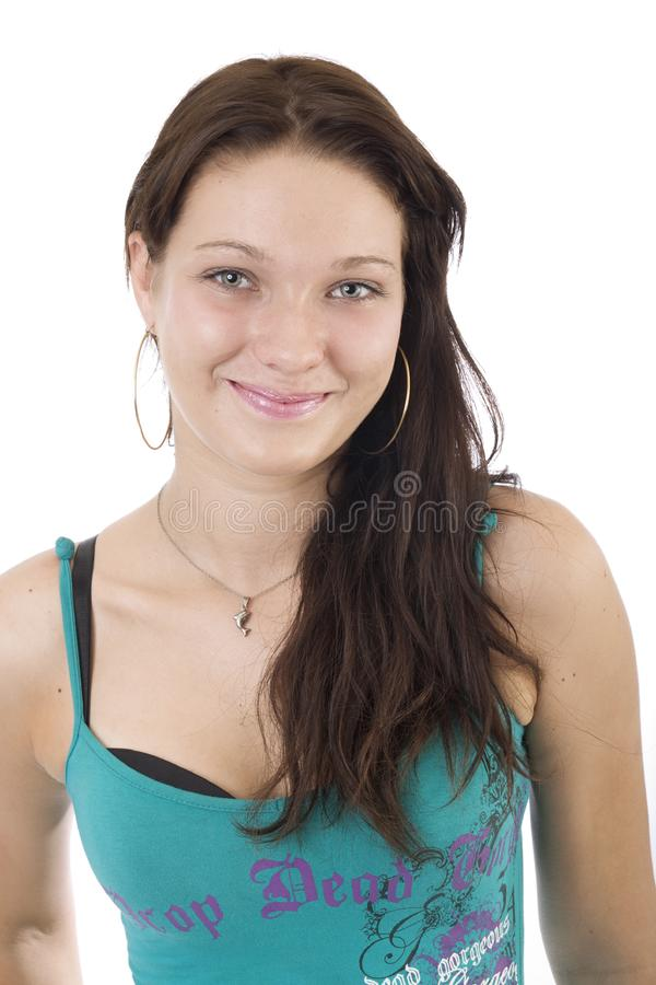 Young lady portrait 1 royalty free stock photography