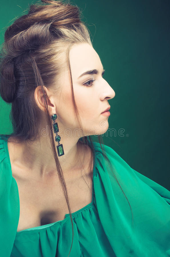 Young Lady. Royalty Free Stock Photography