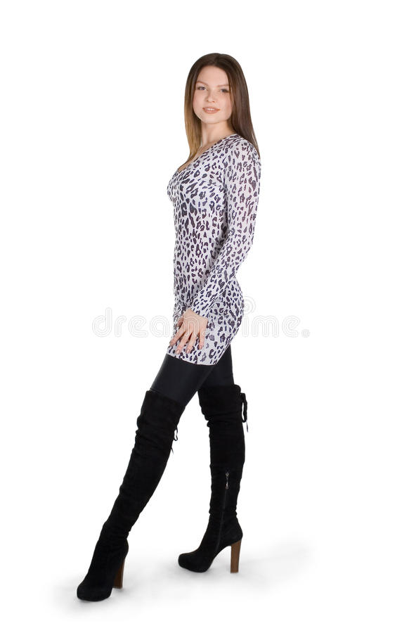 Free Young Lady Standing Royalty Free Stock Photos - 13083848