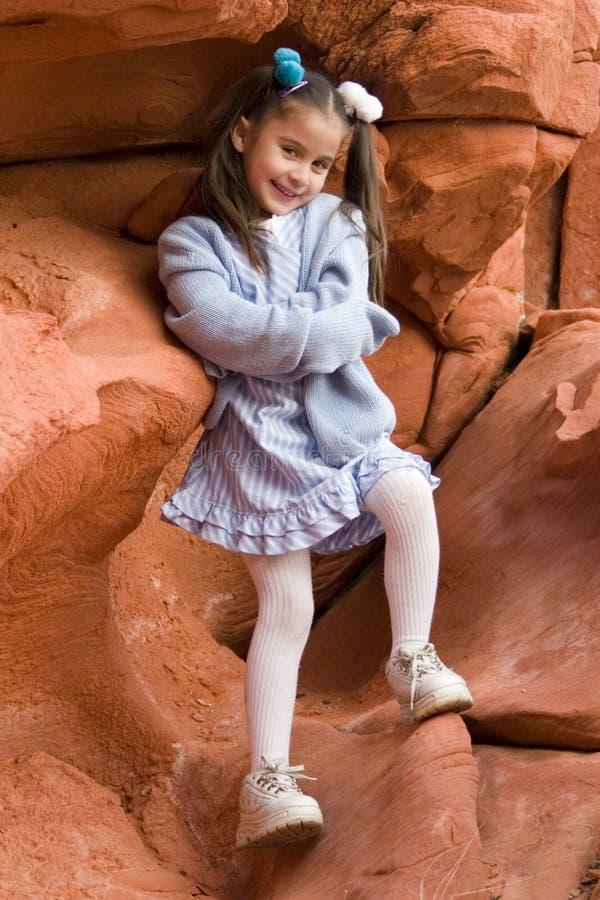 Young Latino girl royalty free stock photo