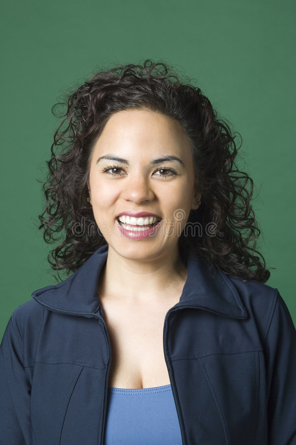 Young Latino woman royalty free stock images