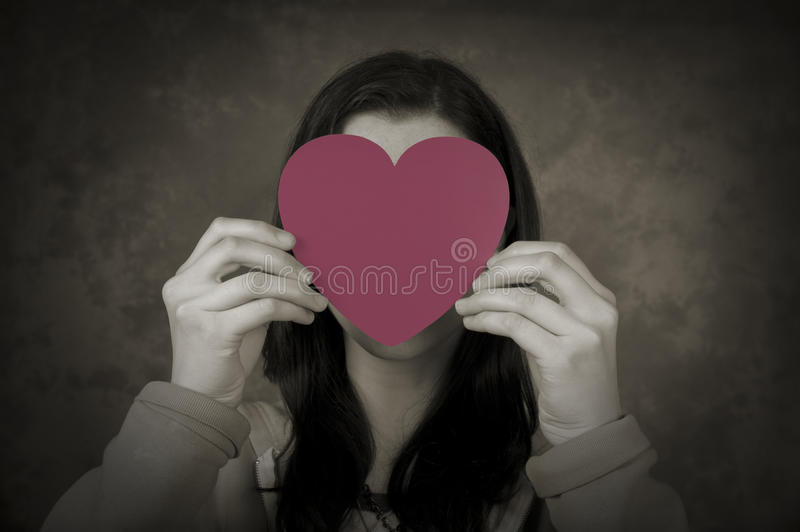 Young Love Hidden stock images
