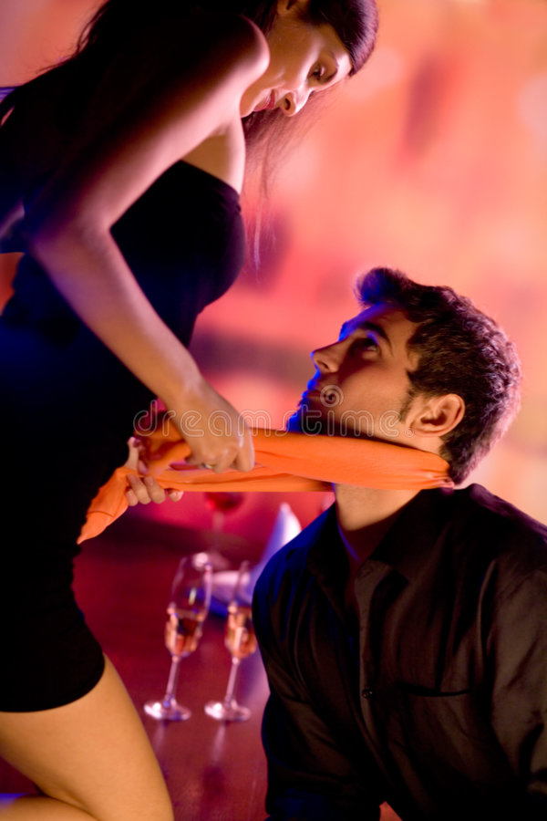 Free Young Lovers Flirting At The Restaurant Royalty Free Stock Photography - 1669937