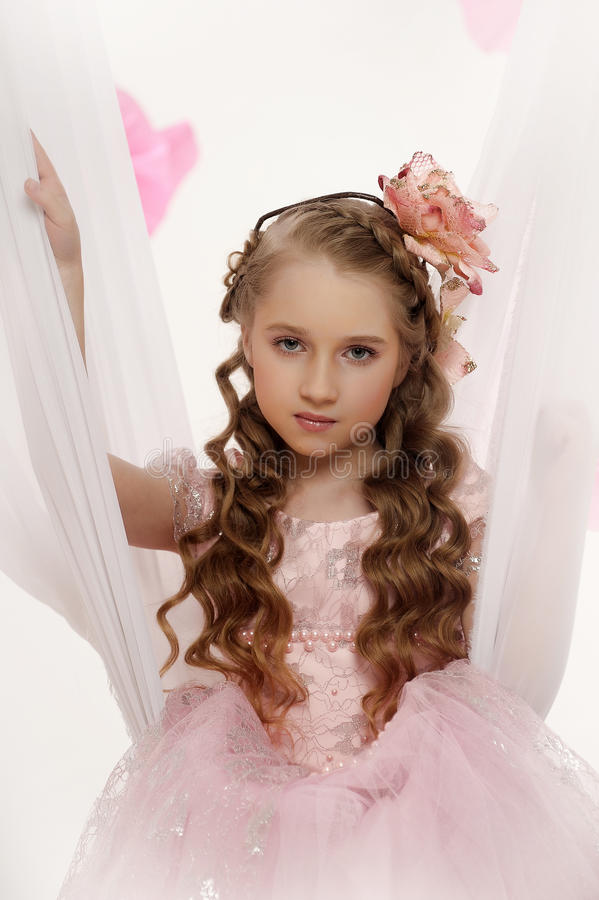 Young magic fairy royalty free stock photos