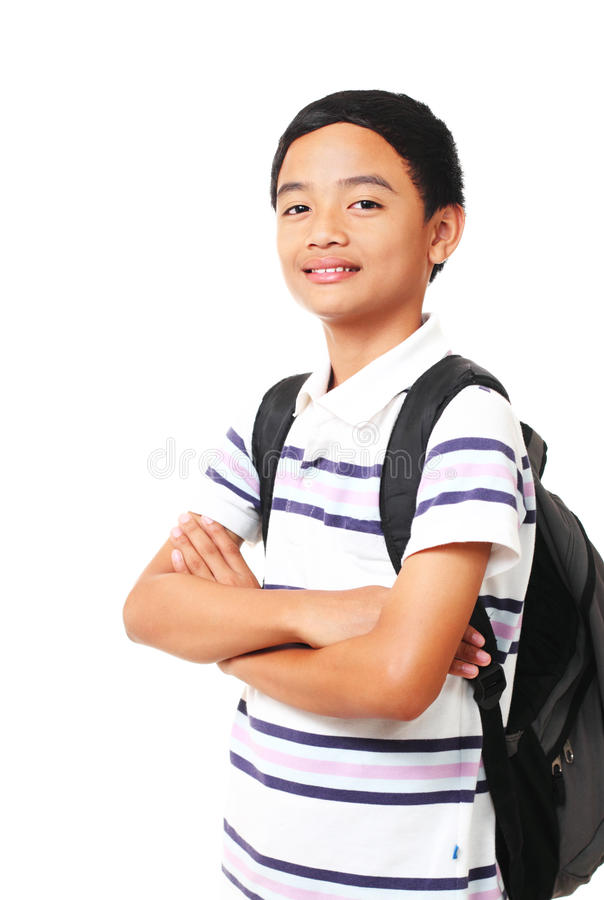 Download Young male student stock photo. Image of happy, cheerful - 18389654
