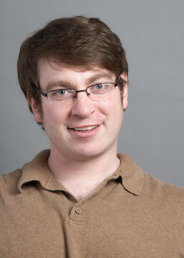Download Young man stock photo. Image of front, portrait, smile - 10534466