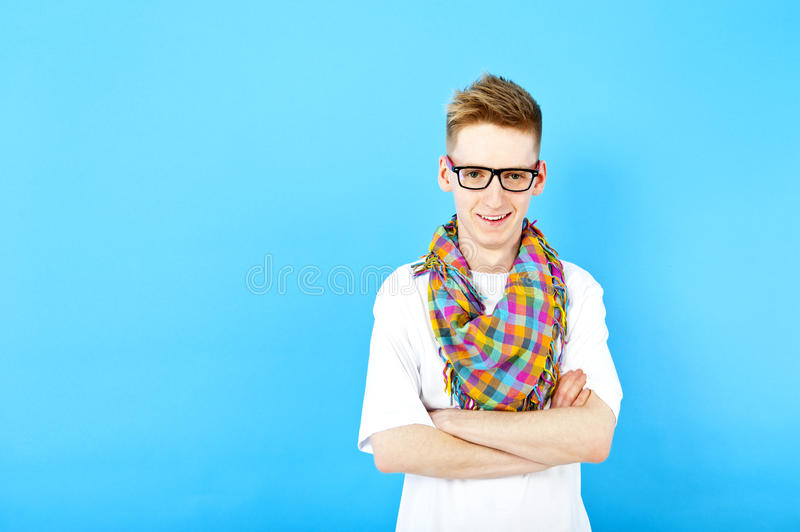 Download Young man stock photo. Image of eyeglasses, attractive - 24799538