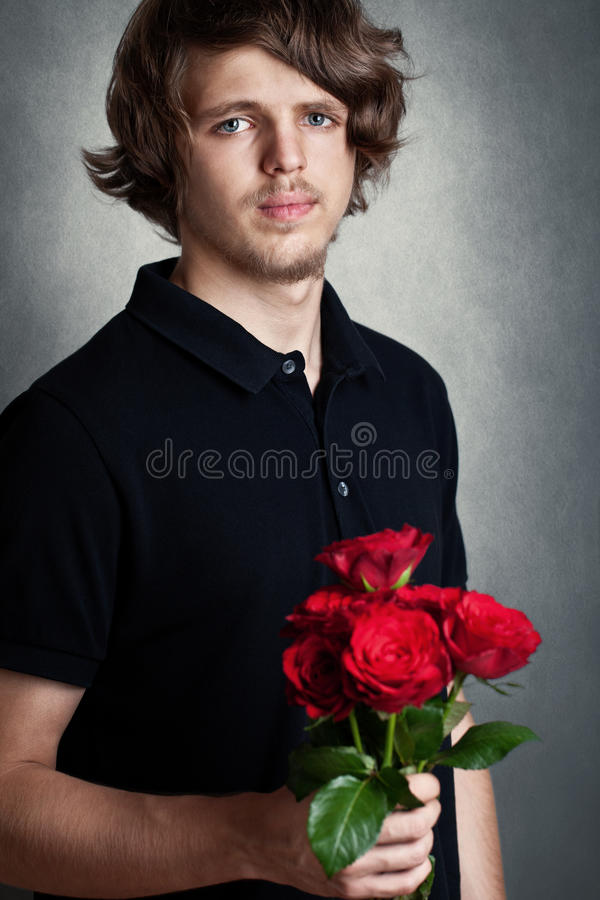 Download Young man stock image. Image of brunette, anniversary - 26088325