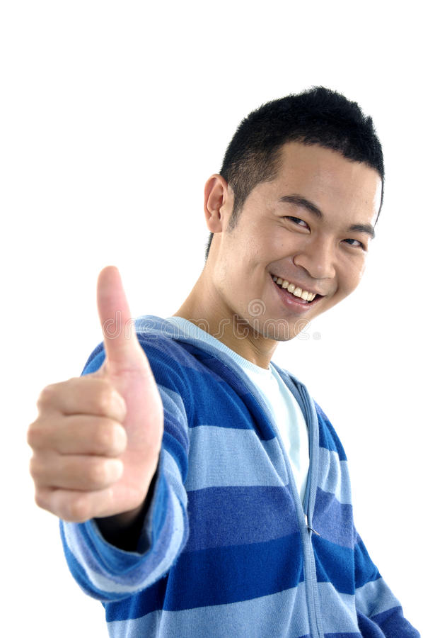 Download Young man stock image. Image of attitude, adult, finger - 28670517