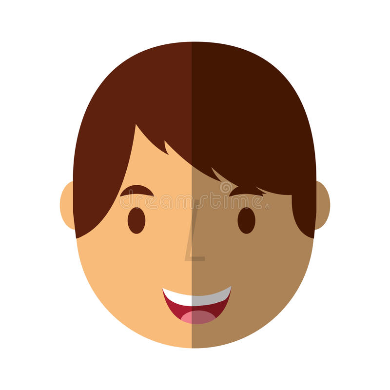Young man avatar character. Vector illustration design stock illustration