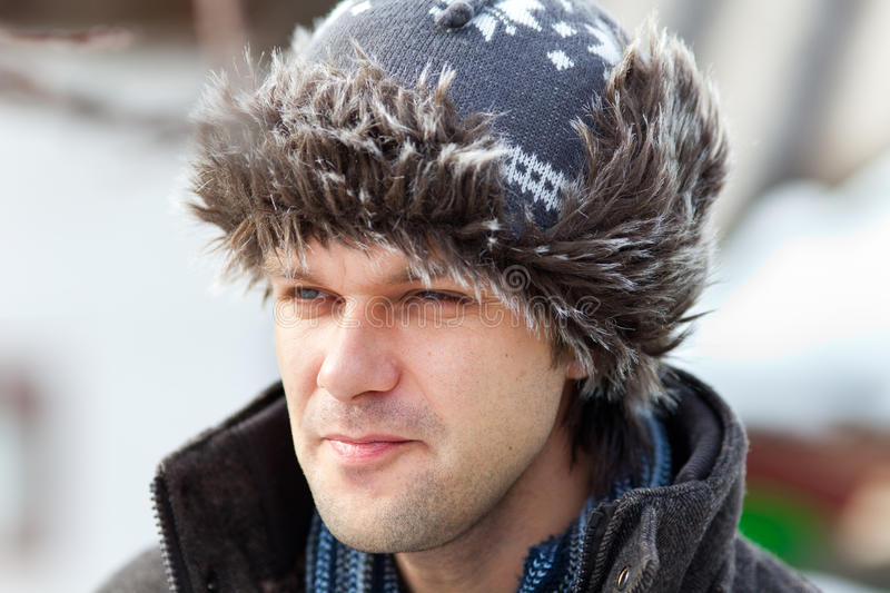 Download Young Man With Cap Outdoor Royalty Free Stock Photography - Image: 18215077